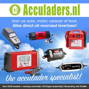acculaders fiets en auto