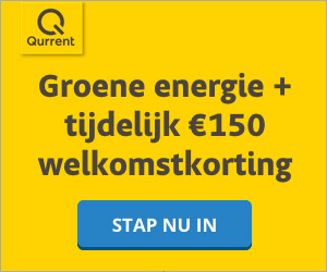 Qurrent  € 150,- welkomskorting