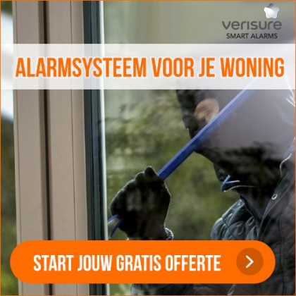 Verisure alarmsysteem -40%