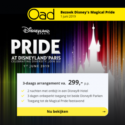 Oad – Magical Pride at Disneyland®