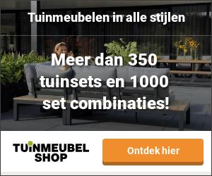 tuinmeubelen, parasols