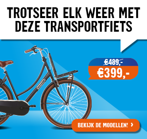 transportfiets, omafiets, elektrische fiets