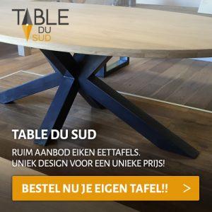 houten tafels