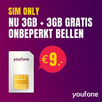 Youfone – Sim Only