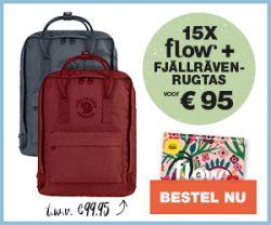 Flow Magazine + Fjällräven tas
