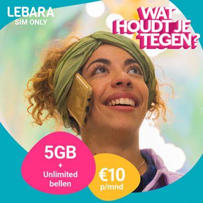 Lebara – Sim only