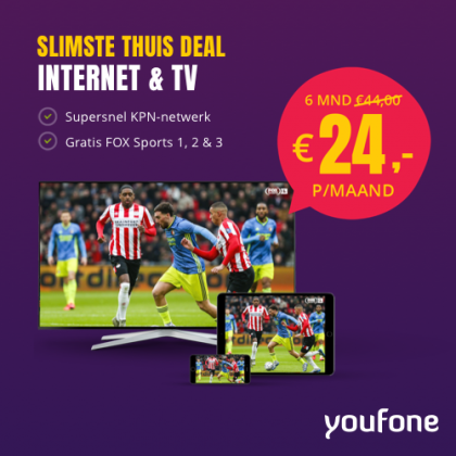Youfone – TV Alles-in-1