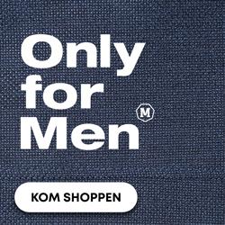Only for Men – Acties